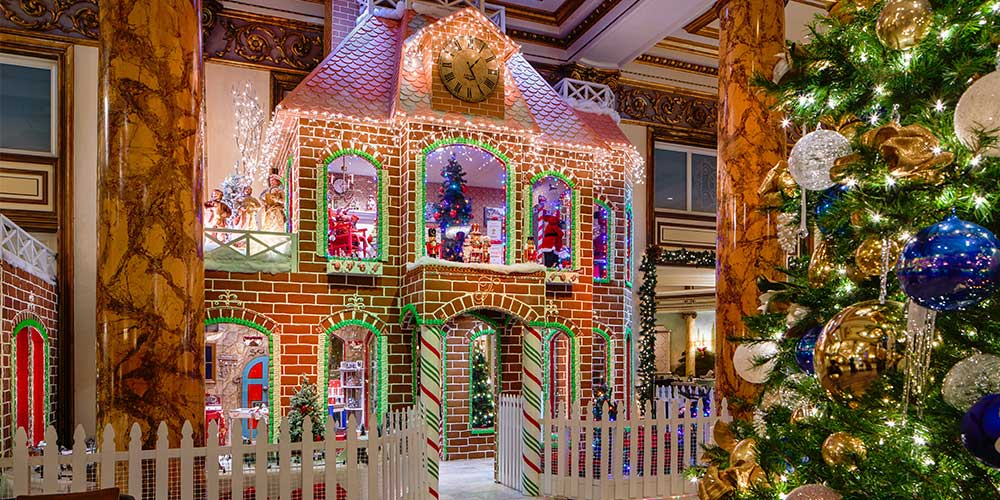 Inside the Making of a Two-Story, Larger-Than-Life Gingerbread House